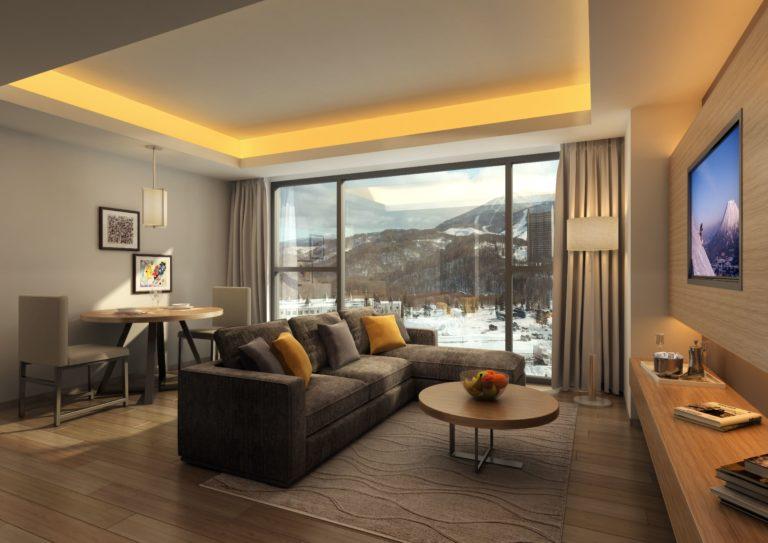 The Vale Rusutsu - Living Room