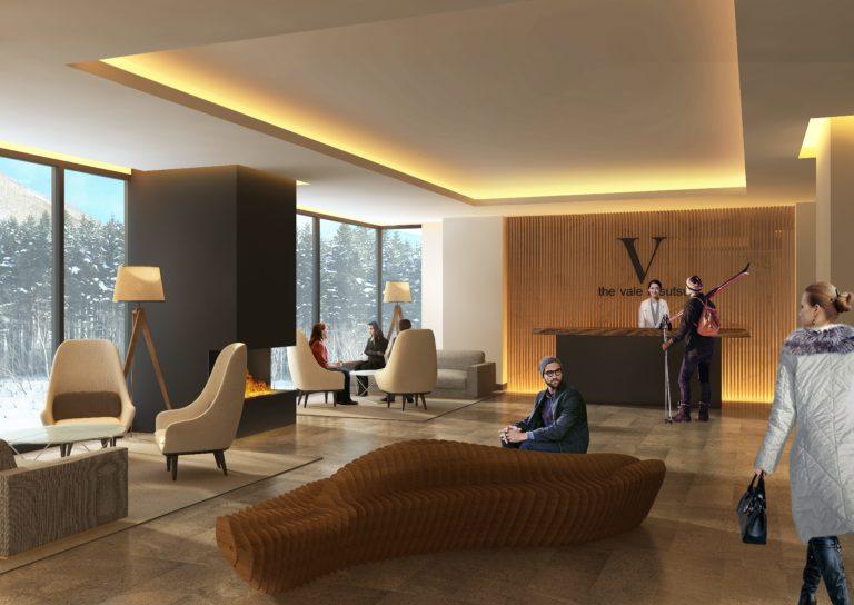 The Vale Rusutsu - Lobby Area